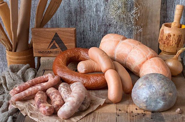 Кишки для колбасы в Москве от производителя Инстантбел